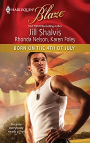 Bookcover: Born on the 4th of July