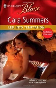 Bookcover: Led into Temptation
