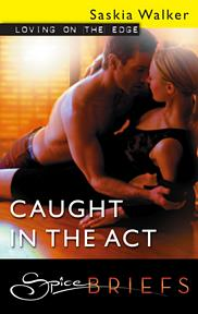 Bookcover: Caught in the Act