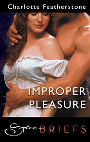Bookcover: Improper Pleasure